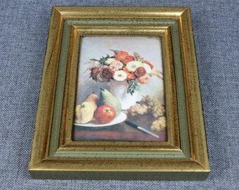 Vintage French HELCA Enamel Painting - Henri Fantin-Latour