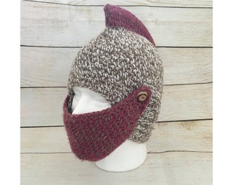 d1781f7b5b2 Unisex Knit Hat - Mexican Knit Hat - Warrior Hat - Winter Hat - Mens Knit  Hat - Womens Knit Hat - Mexican Beanie - Warrior Beanie