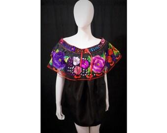 5ff97d0491 Blusa mexicana bordado a mano-blusa de mujer mexicana-blusa Chiapas-blusa  mexicana-blusa bordada mexicana-blusa chiapaneca