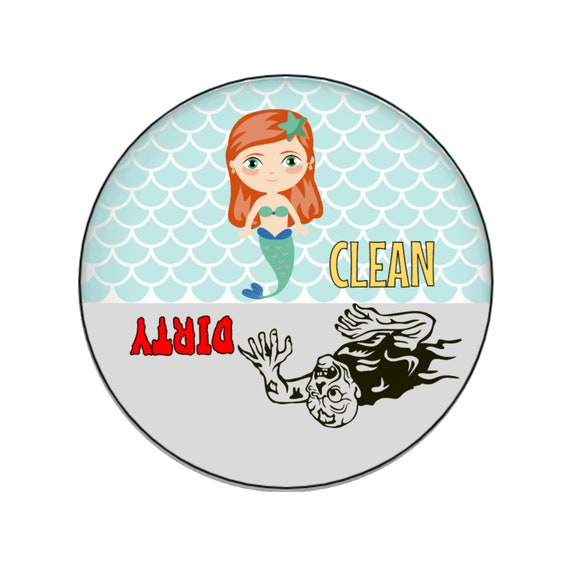 Outgoing Mail Magnet Please Pick Up Mailbox Magnet 2.25 Inch Round