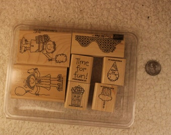 Time for Fun Stampin' Up 2003 (Set of 7)