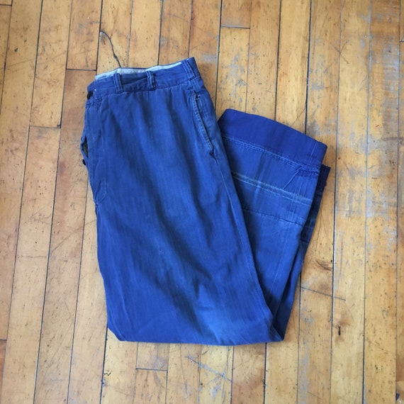40's HBT Work Pants 35x29