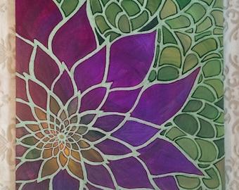 Vermilion Bloom