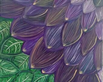 Fairy Purple Dahlia