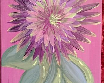 Purple Starburst Dahlia