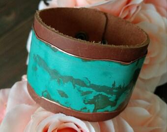 Rustic Copper Bracelet