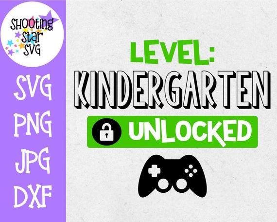Kindergarten Unlocked School Milestones Svg Last Day Of Etsy