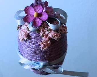 Purple Spring Egg - Small
