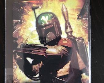 Boba Fett Star Wars Fridge Magnet