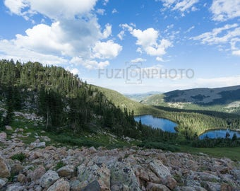 Crater Lakes Rollinsville Colorado Rocky Mountains Landscape Photography Alpine Lakes Wall Art