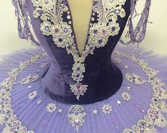 purple tutu princess or lilac fairy