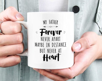 Long Distance Dad Mug Gift Fathers Day Birthday For From Son Daughter
