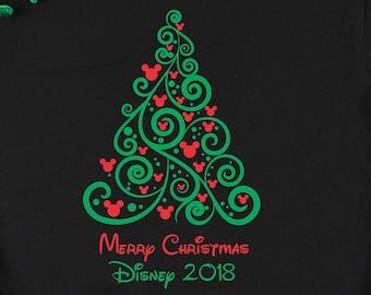 a371545f0f5 Disney Christmas Shirt - Disney Family T-Shirts - Christmas Tree Shirt -  Disney shirts ~ Christmas Gift for Her~ DC06