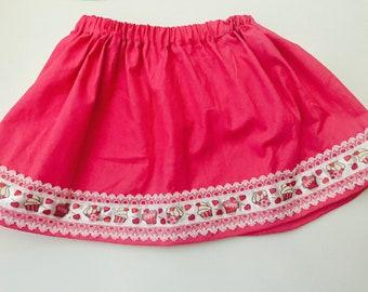 Girls Size 2 Cupcake Twirly Skirt