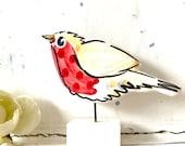 Robin pottery ornament