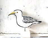 Seagull pottery ornament