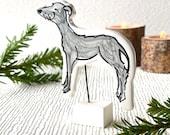 Custom pet portraits / small pottery memorial figurine