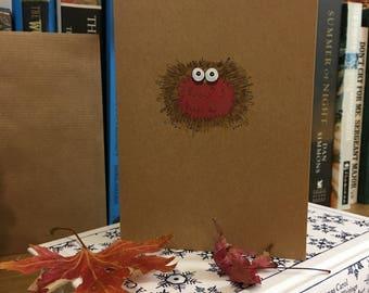 Handmade cards 'Christmas Robin'