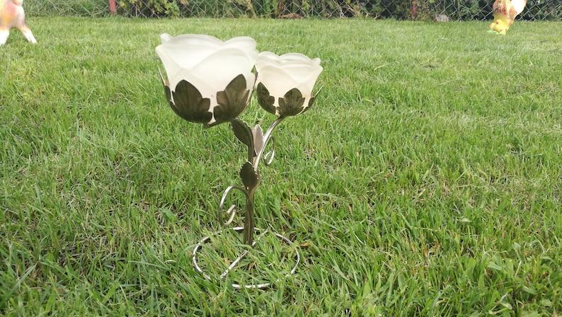 Metal candle holder  Home decor holder  Vintage candle holder  Vintage lamp  Unique decor  Wedding candle holder Glass candle holder