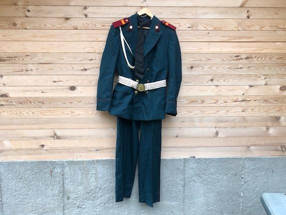 Military uniform / Old parade uniform / Military j