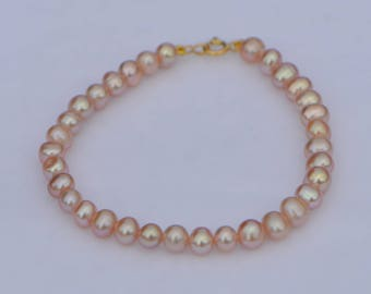 cultured freshwater pearls beaded bracelet