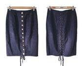Vintage Jean Paul GAULTIER corset skirt