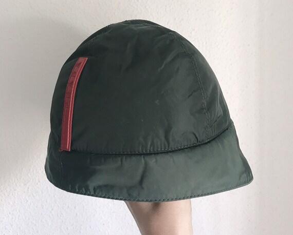 1999 PRADA nylon rain hat