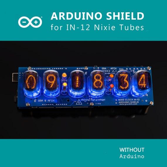 In nixie röhren uhr arduino shield ncs mit sokets etsy