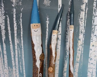 """Gnome family """"Happy"""", home and garden decoration"""