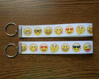Emoji Ribbon Keyrings
