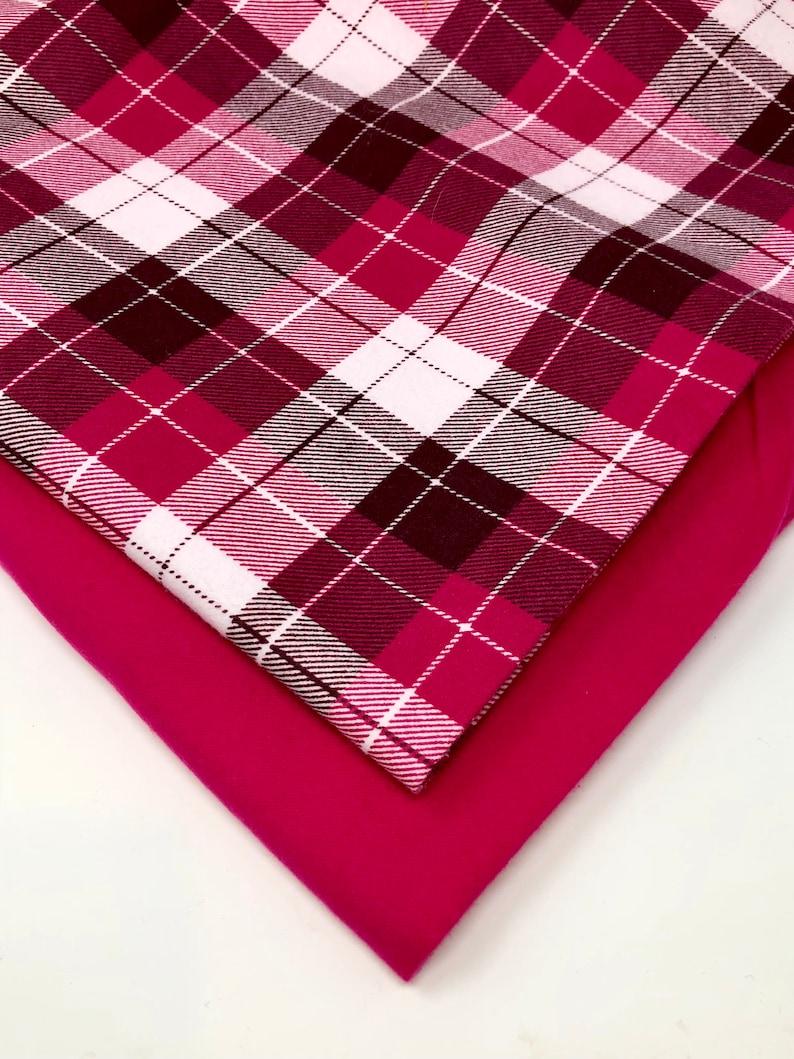 Berrylicious Flannel Snap On Dog /& Pet Bandana