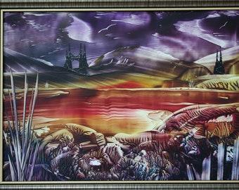 Original Encaustic Art Painting