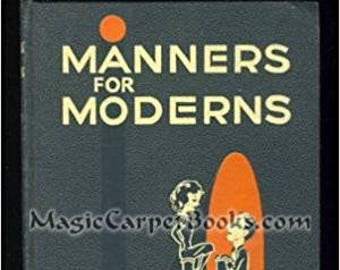 Manners for Moderns by Kathleen Black, 1953