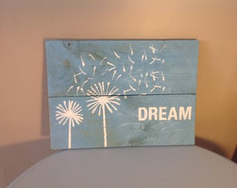 Rustic Dream Wall Decor