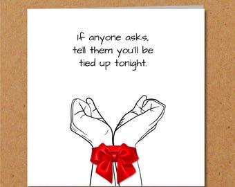 Valentines day card bdsm