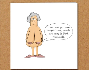 Funny Birthday Card 40th 50th 60th For Wife Mum Grandmother