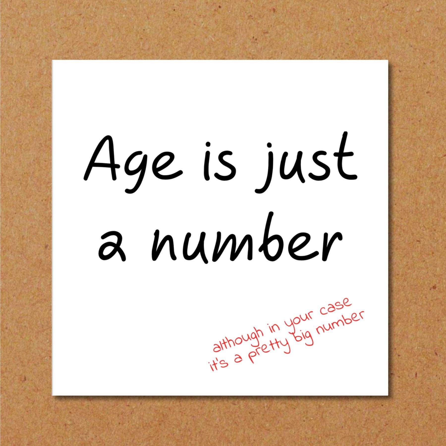 Funny Birthday Card 40th 50th 60th Birthday For Mum Dad