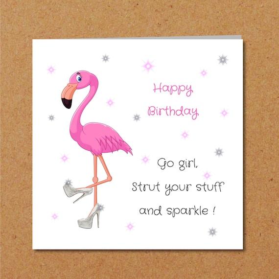 Girl Friend Birthday Card Girlfriend Mum Mom Best