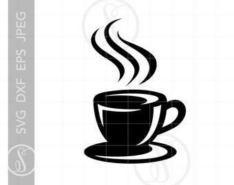 Coffee Mug Svg Etsy