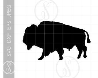 055af8aa79084 Bison SVG | Bison Clipart | Buffalo Bison Silhouette Cut File | Full Body  Bison Svg Jpg Eps Pdf Png Download SC771