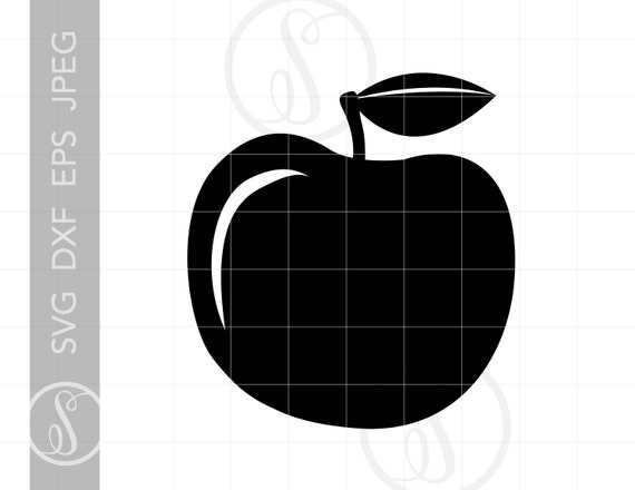 Apple Svg Apple Clipart Download Apple Cut File For Cricut Etsy