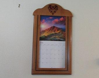 Heart Shaped Calendar Holder