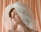 Vintage Shoulder Length Bubble Veil