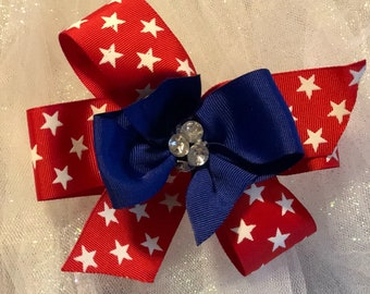 Red white & bows