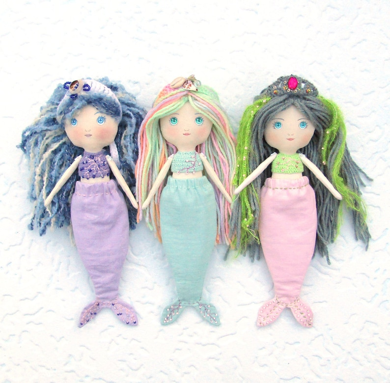 Cartoon Fashion Princess Mermaid Doll Toy Decor Baby Kid Doll With Fish Tail Phone Decor Toy For Girl Birthday Xmas Gifts 100% Guarantee Dolls & Stuffed Toys Toys & Hobbies