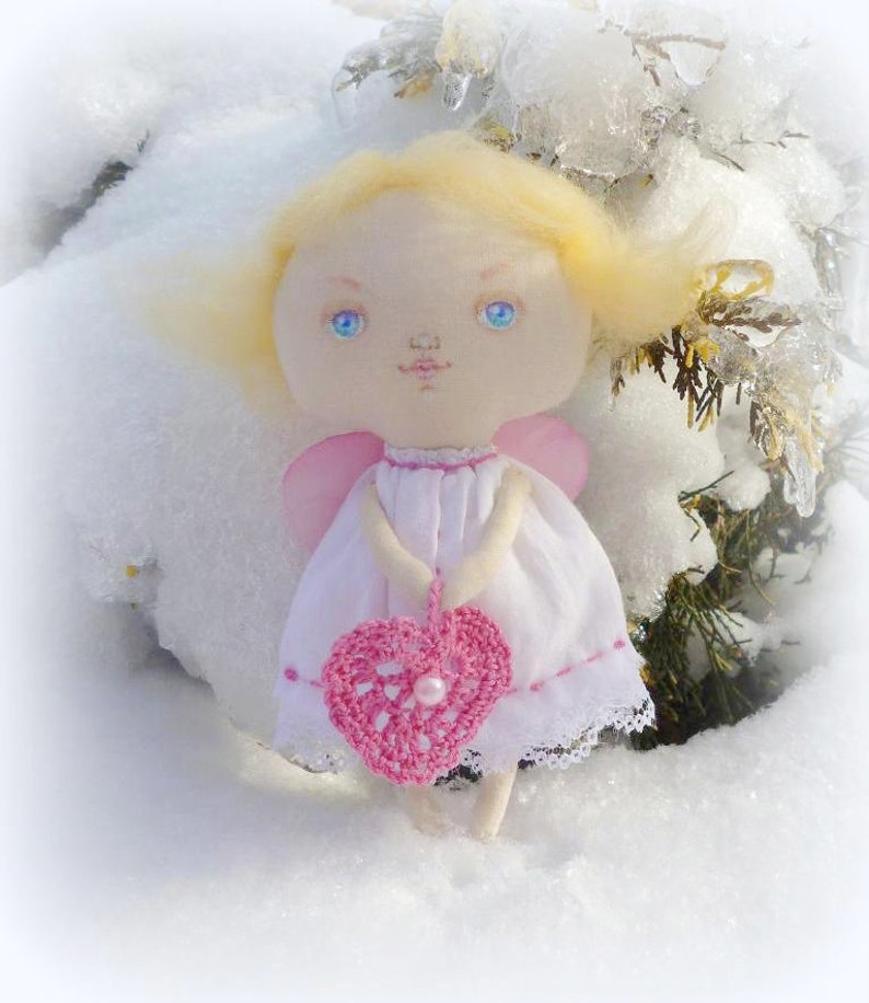 your girls Cute guardian little angel doll Xmas tree toys ornaments home decor Unique funny Mothers Day gift for her sister mom daughr