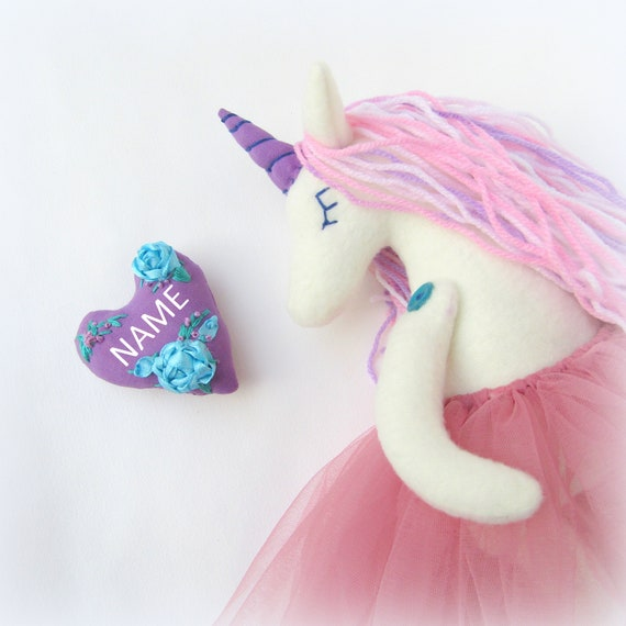 Cute Christmas Gifts For Teenage Girls.Personalised Toys Funny Gifts For Teen Girls Cute Children Soft Toys Christmas Gift Her Handmade Rainbow Stuffed Unicorn Toy
