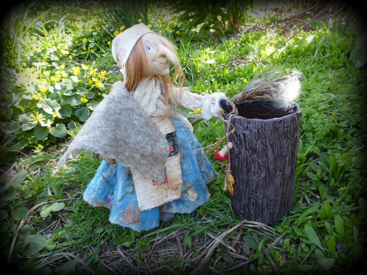 Küche Hexe Puppe Horror Dekor Krone Hexerei liefert ethnischen