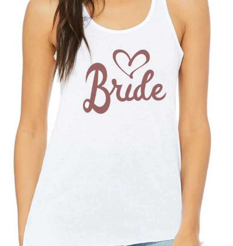 c83c5236b23c7 Bride Tank top or tshirt bride tee bride tank top bride