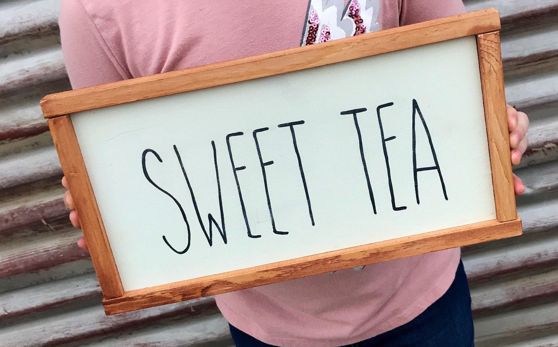 Shabby Chic Kitchen Signs : Sweet tea sign rae dunn farmhouse kitchen signs etsy